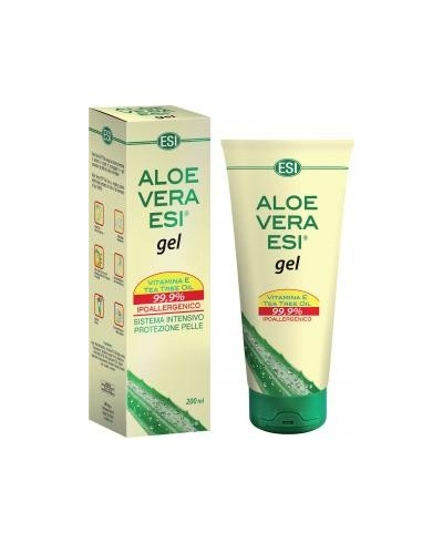 Aloe Vera Gel con Vitamina E e Tea Tree Oil