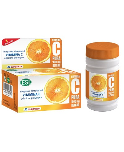 Vitamina C 1000 mg Retard Pura